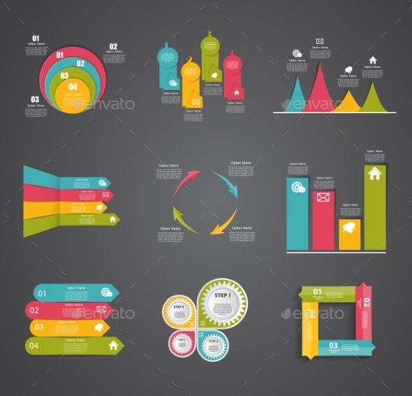 GraphicRiver Collection of Infographic Templates for Business 9265551