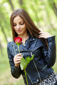 Beautiful girl with a rose - PhotoDune Item for Sale