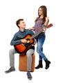 Teenagers singing - PhotoDune Item for Sale