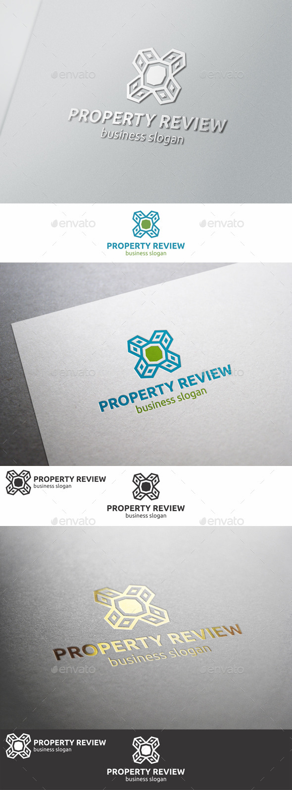 GraphicRiver Property Review Logo 9265976