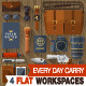 Every Day Carry Work space  - GraphicRiver Item for Sale