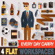 Every Day Carry Style Man Stuff - GraphicRiver Item for Sale
