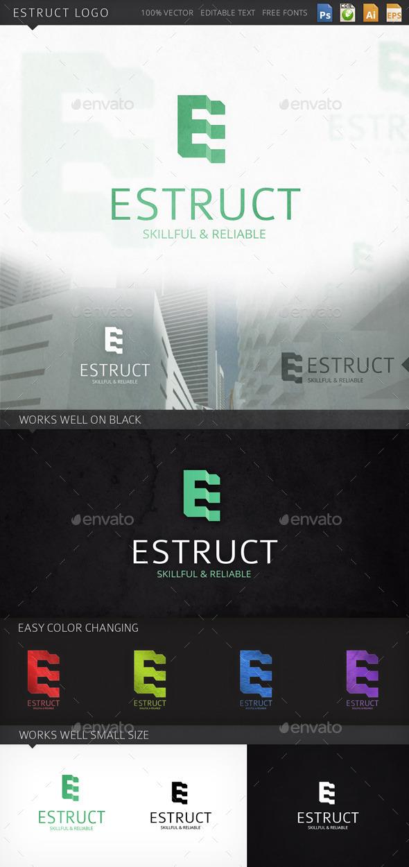 GraphicRiver Estruct Logo 9266026