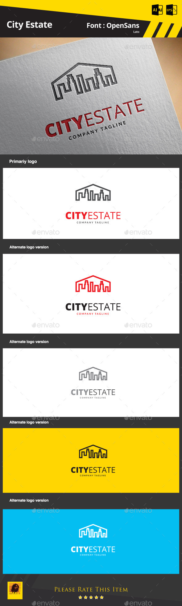 GraphicRiver City Estate 9266170