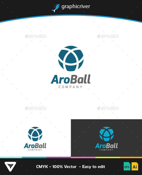GraphicRiver AroBall Logo 9266191