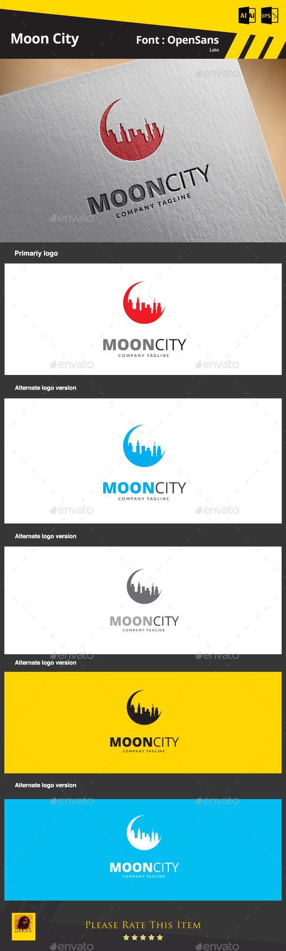 GraphicRiver Moon City 9266531