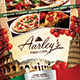 Italian Food Menu Flyer - GraphicRiver Item for Sale