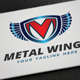 Metal Wings Logo - GraphicRiver Item for Sale