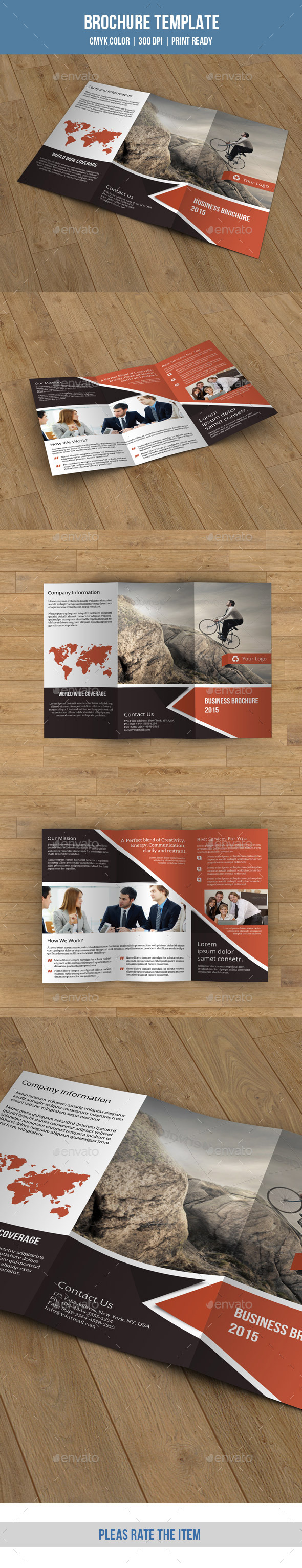 GraphicRiver Business Trifold Brochure-V178 9267701