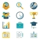 Assorted Colored Business Icons - GraphicRiver Item for Sale