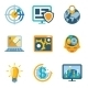 Process Automation and Increase Efficiency Icons - GraphicRiver Item for Sale