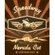 Retro Speedway Nevada Cut Graphic Design - GraphicRiver Item for Sale