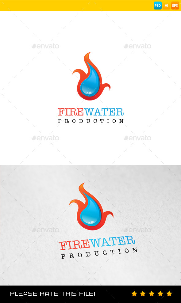 GraphicRiver Fire Logo 9268125