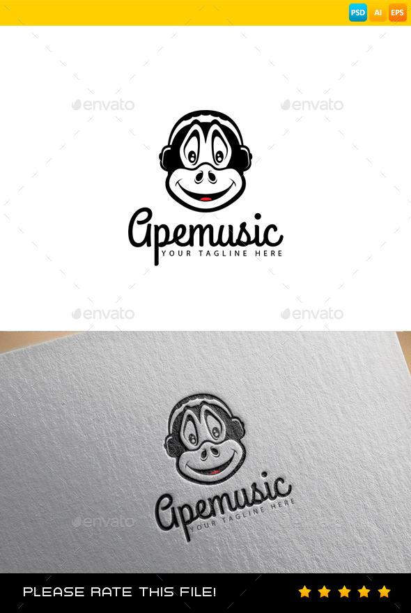 GraphicRiver Ape Logo 9268149