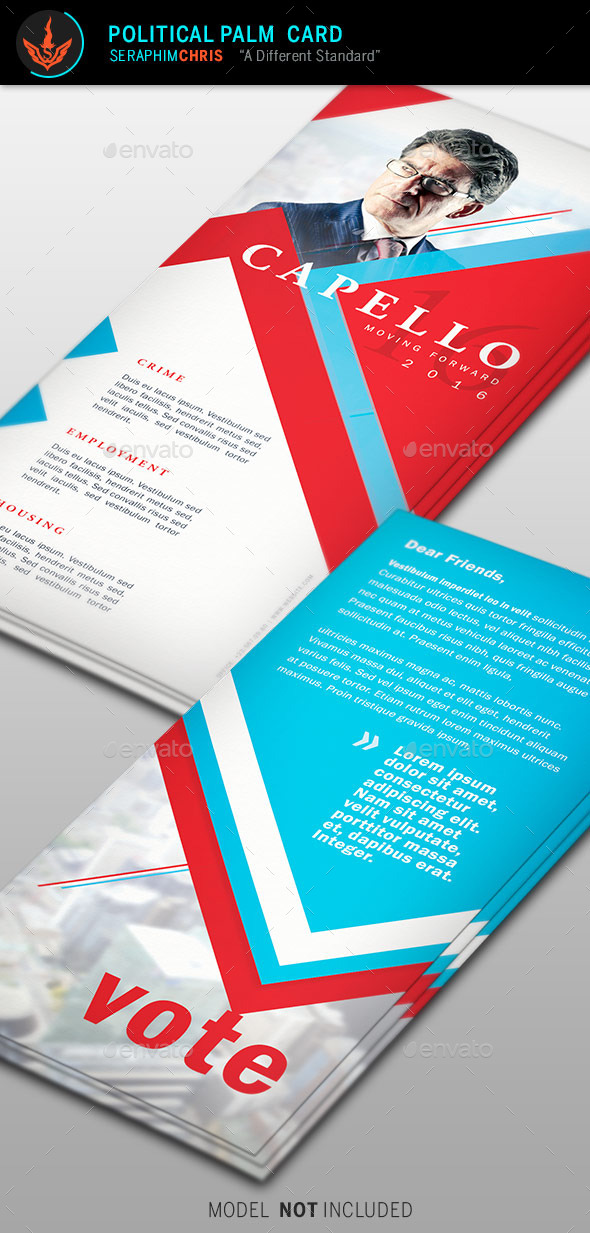GraphicRiver Political Palm Card Template 6 9268444