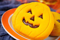 cookies in the shape of jack-o-lanterns - PhotoDune Item for Sale