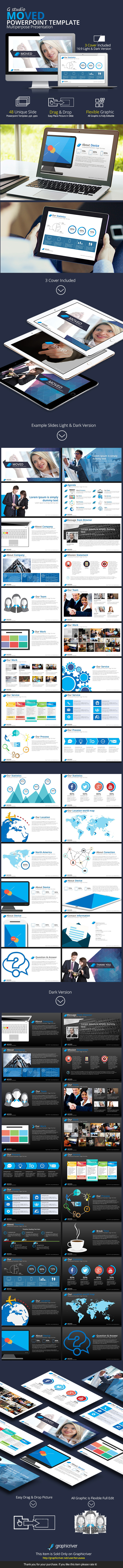 GraphicRiver Moved Powerpoint Template 9227233
