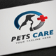 Pets Care Logo - GraphicRiver Item for Sale