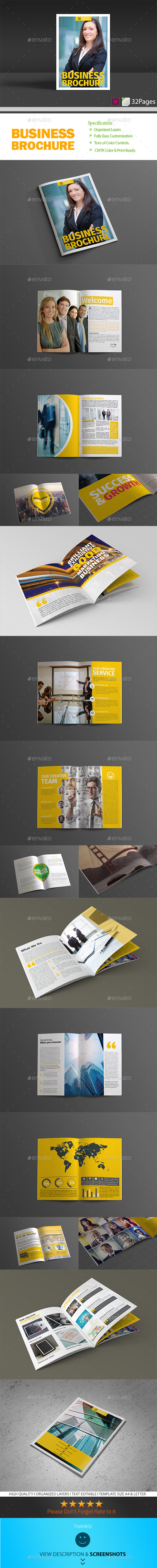 GraphicRiver Business Brochure 9268884