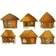 Cottage Set - GraphicRiver Item for Sale