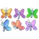 A Group of Colourful Butterflies - GraphicRiver Item for Sale