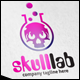 Skull Lab Logo - GraphicRiver Item for Sale