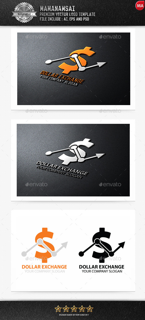 GraphicRiver Dollar Exchange Logo 9269208