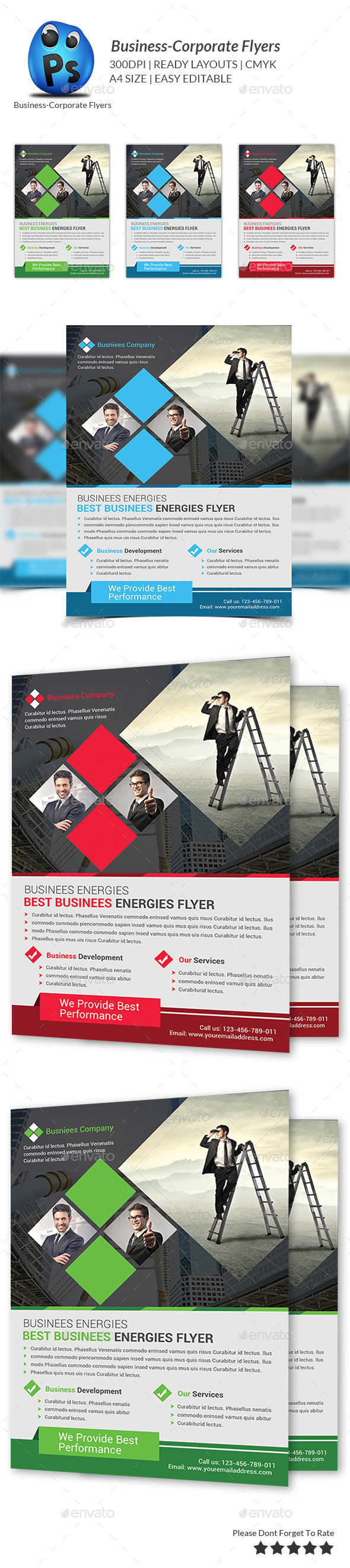 GraphicRiver Best Business Flyers Templates 9269234