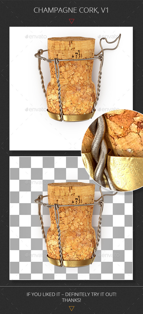 GraphicRiver Champagne Cork v1 9269291