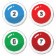 Pool Ball, Billiard or Snooker Ball Icons Set - GraphicRiver Item for Sale