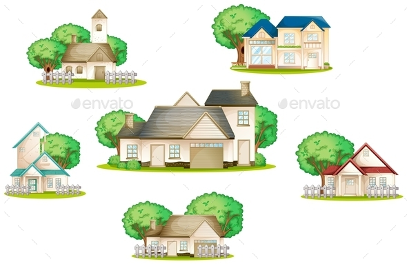 GraphicRiver Various Houses 9269562