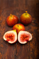 fresh figs over old wood - PhotoDune Item for Sale