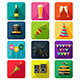 New Year Party Icons - GraphicRiver Item for Sale