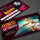 Sport Activity Gift Voucher 01 - GraphicRiver Item for Sale