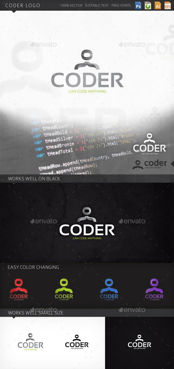 GraphicRiver Coder Logo 9269688