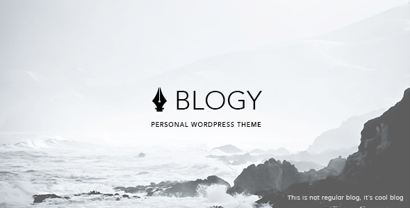 ThemeForest Blogy Modern Personal Wordpress Blog Theme 9220105