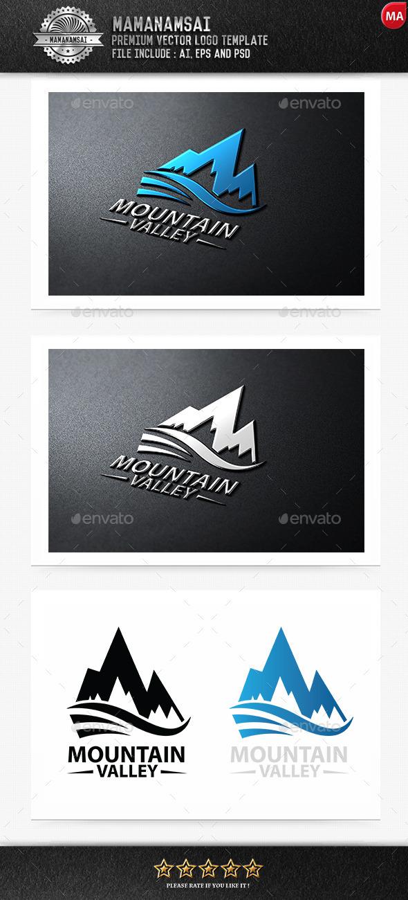 GraphicRiver Mountain Valley Logo 9270225