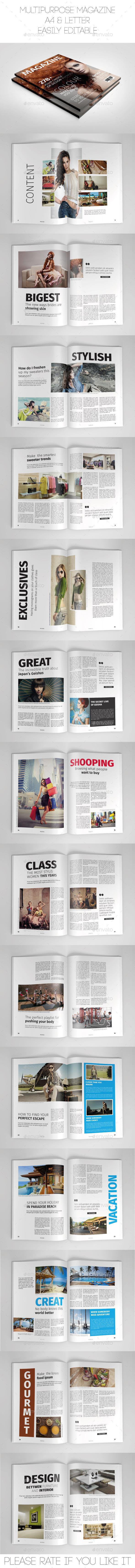 GraphicRiver Multipurpose Magazine 9270263