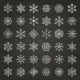 Winter Snowflakes - GraphicRiver Item for Sale