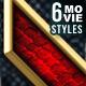 6 Movie Text Style Premium - GraphicRiver Item for Sale
