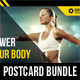 3 in 1 Sport Activity Postcard Template Bundle - GraphicRiver Item for Sale