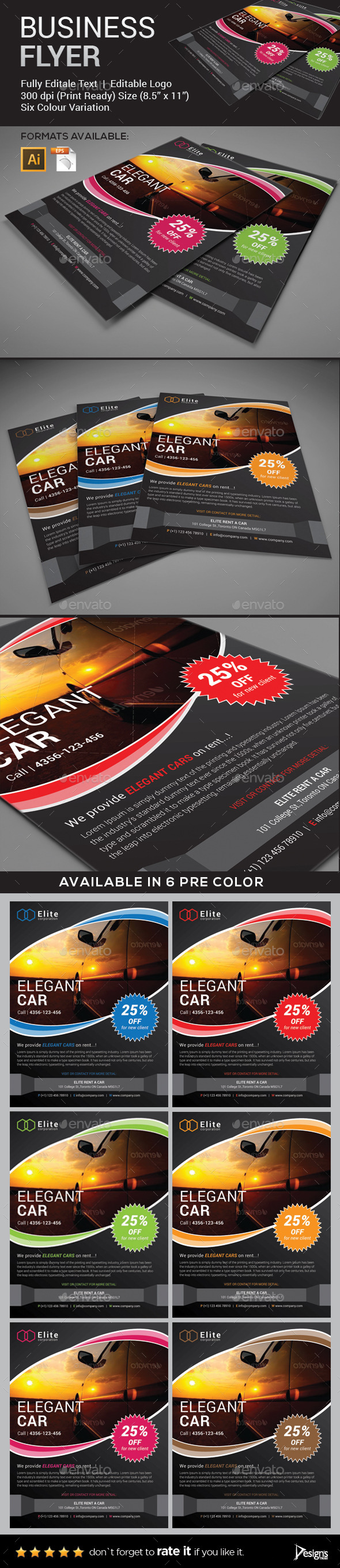 GraphicRiver Flyer Multipurpose Business Flyer 4 9270421