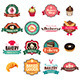 Vintage Bakery Collection of Icons and Tags - GraphicRiver Item for Sale