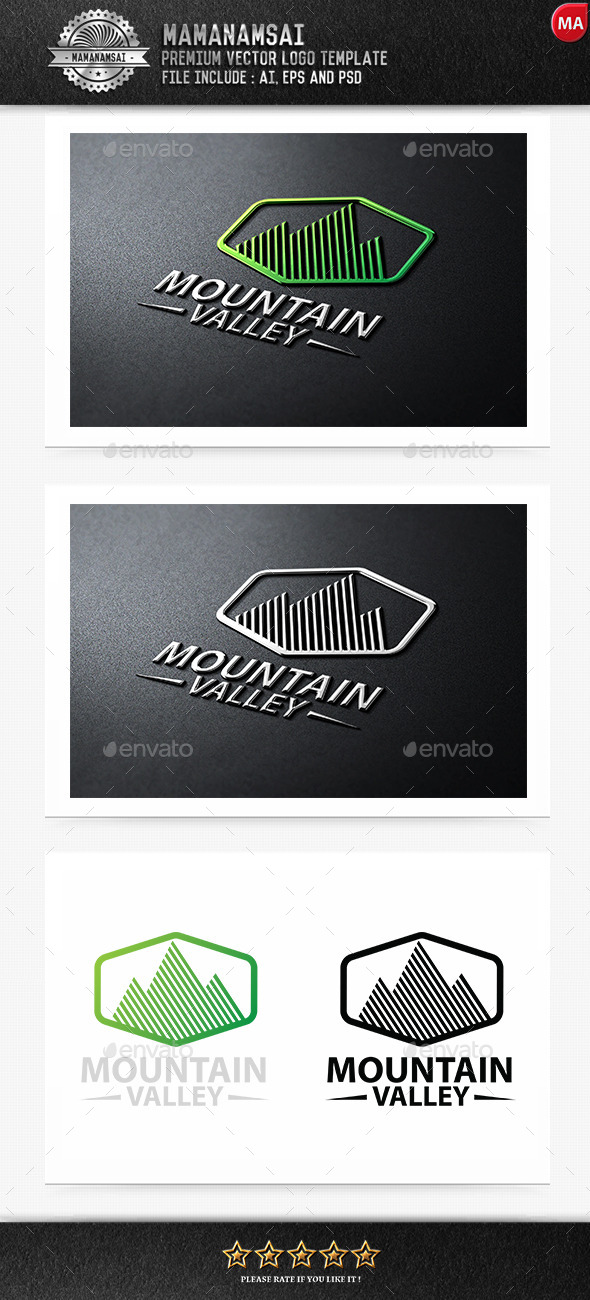 GraphicRiver Mountain Logo 9270656