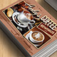 Coffee Shop Rewards Card - GraphicRiver Item for Sale