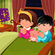 Kids Praying Before Going to Bed - GraphicRiver Item for Sale