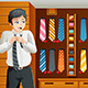 Man Shopping for a Tie - GraphicRiver Item for Sale