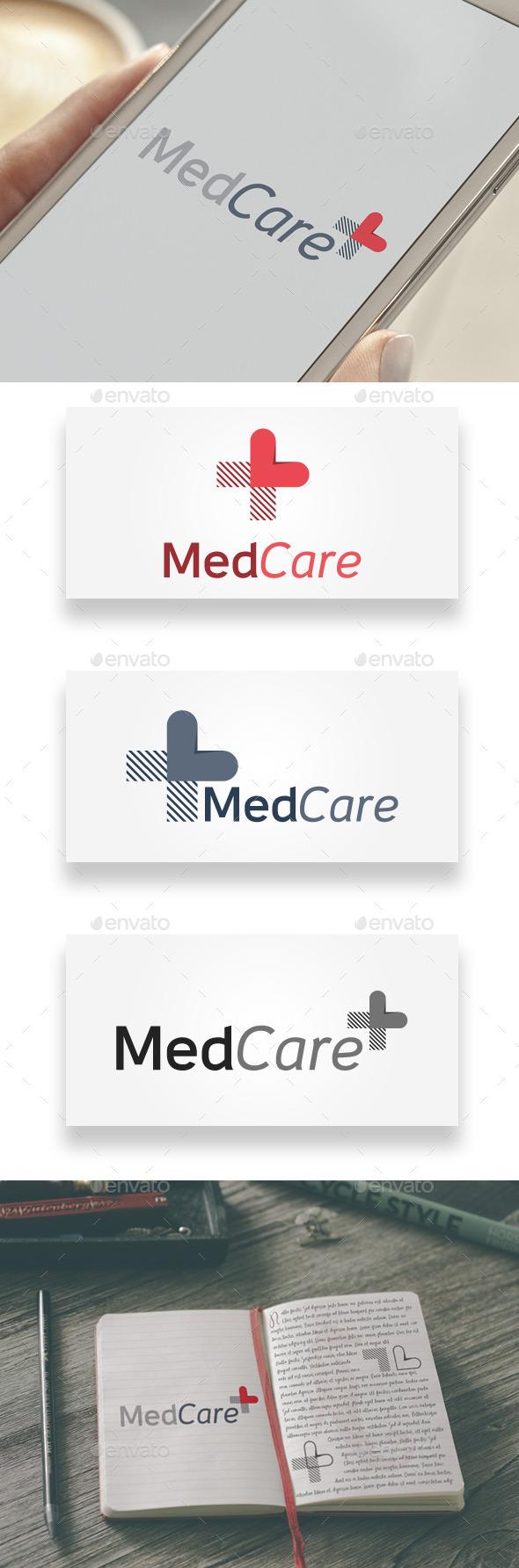 GraphicRiver MedCare Logo 9271136