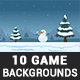 10 Modern Game Backgrounds - GraphicRiver Item for Sale