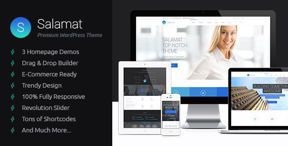 Salamat Multipurpose WordPress Theme